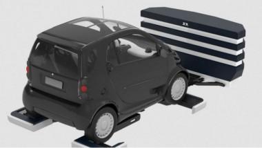 Un robot gare les voitures à Roissy